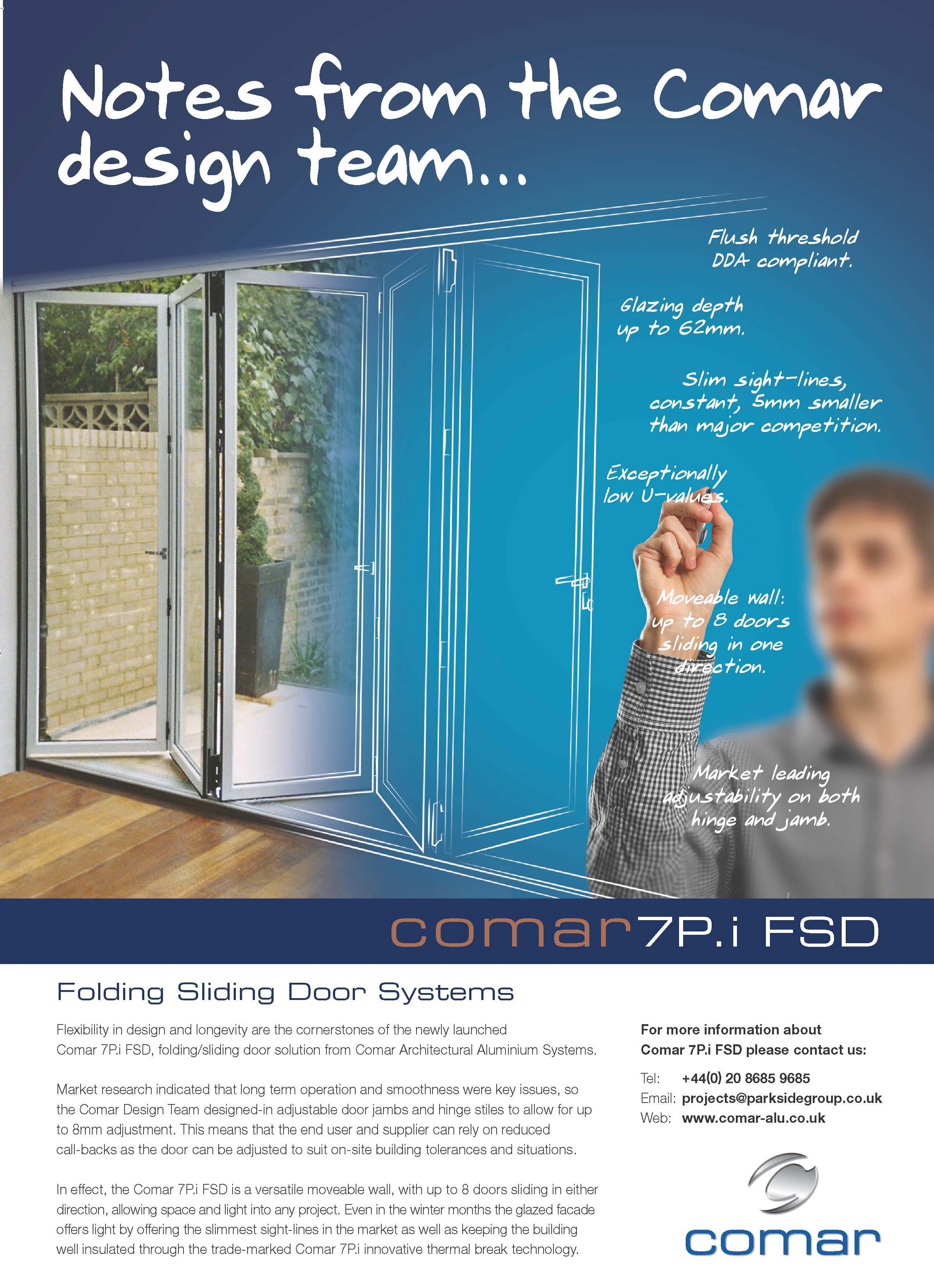 Comar\u0027s New Advertising C&aign \u2013 \u201cNotes from the Comar Design ...  sc 1 st  Comar Architectural Aluminium Systems & Folding Sliding Doors Archives - blog.comar-alu.co.uk