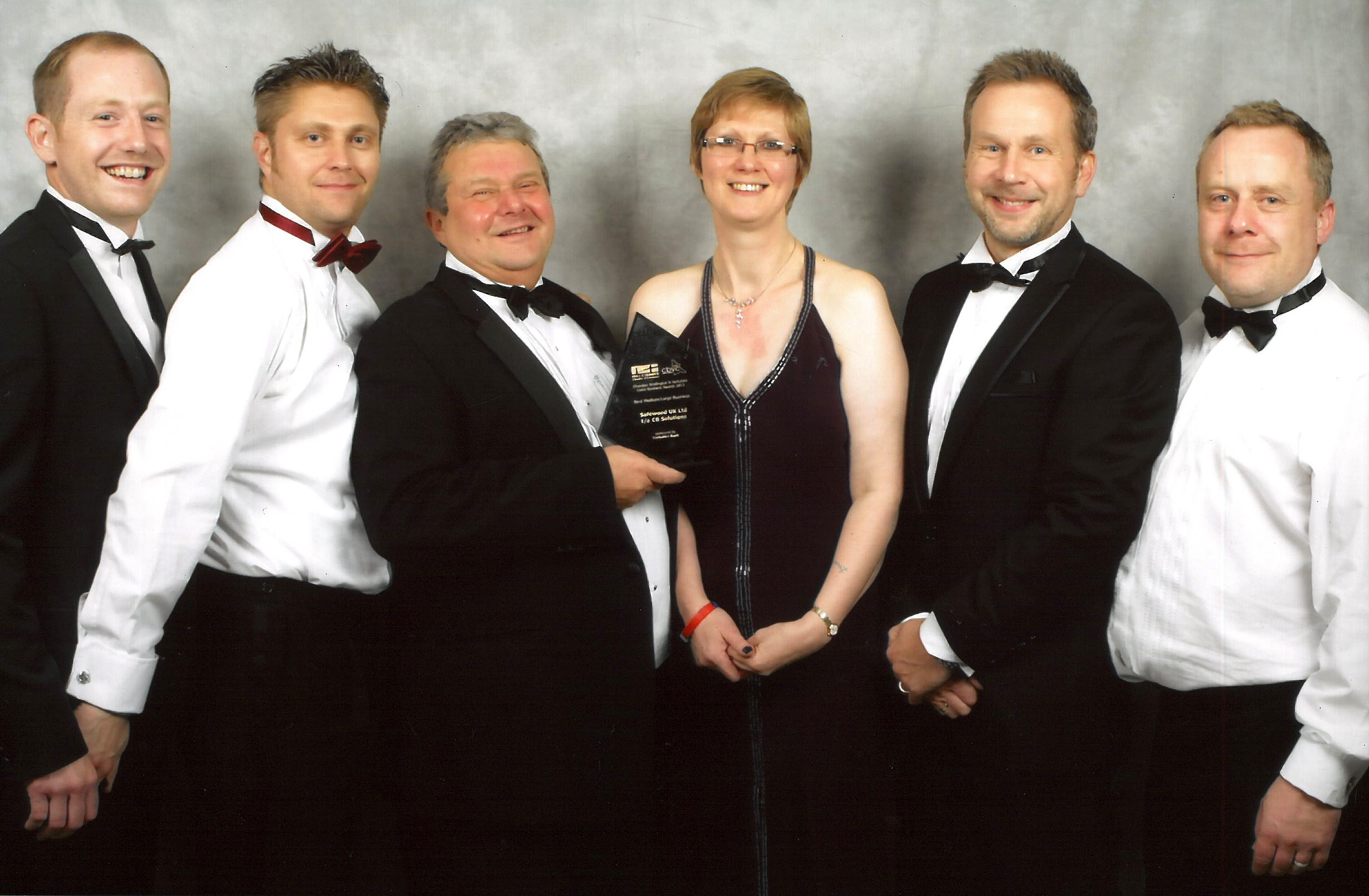 Parkside Fabricator – CB Solutions Receive Business of the Year Award