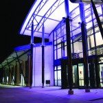 COMAR durham uni sports hall front